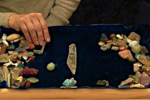 Vivien Schapera Crystal Reading Board used in Remote Healing